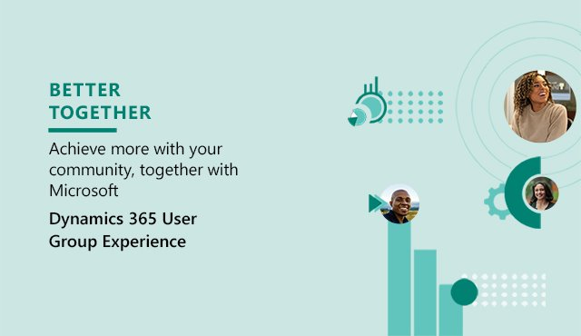 Join a Dynamics 365 user group