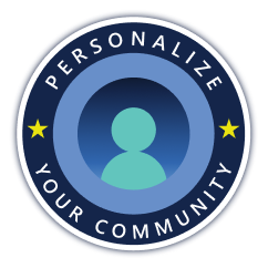 Personalize your community Image